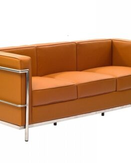 Le Corbusier LC2 3 seater tan