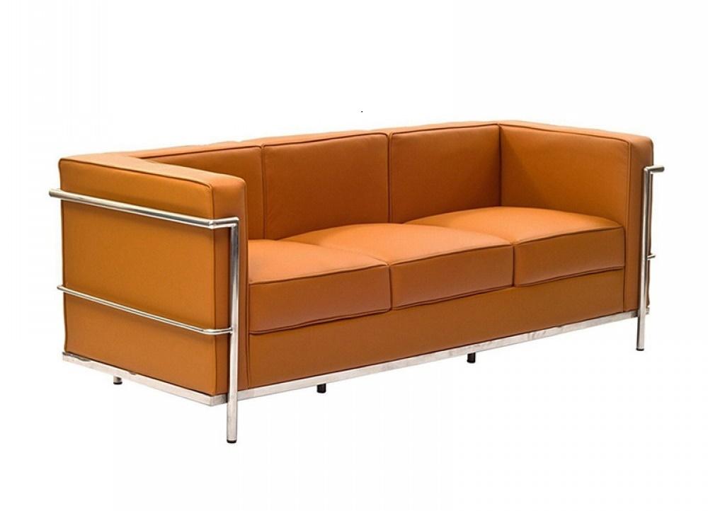 Le Corbusier LC2 3 seater tan