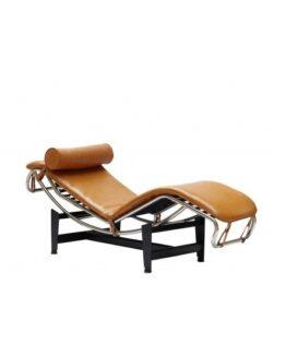 Le Corbusier LC4 Chaise Longue Tan