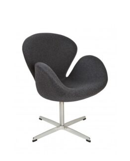 Swan Chair Dark Grey