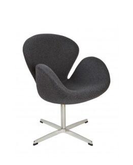 Swan Chair Dark Grey