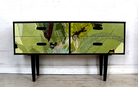 Upcycled Mid Century Modern Chest
