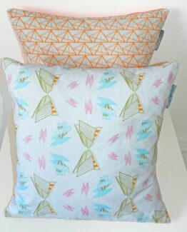 Annabel Perrin Architectural Butterflies Cushion Cover 1