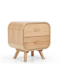 Fonteyn Bedside Table Oak