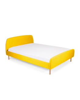 Jonah Bed With Footboard Yellow