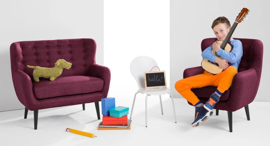 Kubrick mini kids sofa