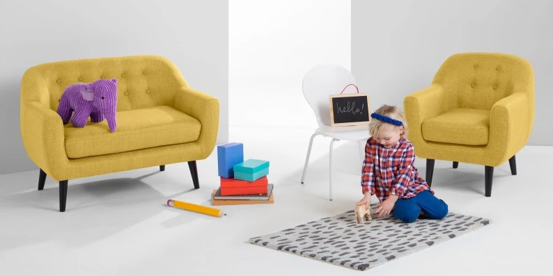 Mini Ritchie kids sofa