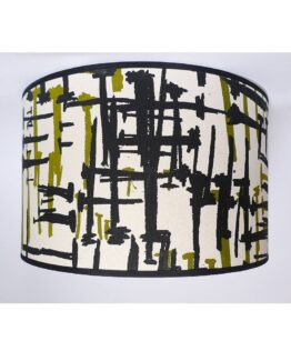 Mintprint Nails Drum Lampshade