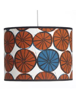 Mintprint Wheels Drum Lampshade