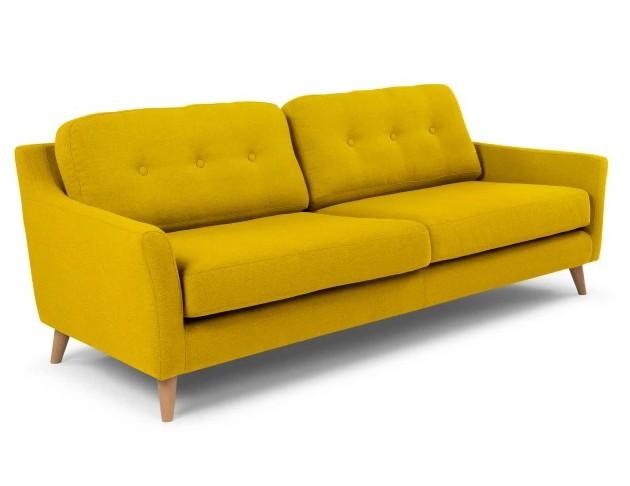 Rufus Sofa Mustard yellow