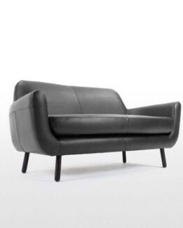 Jonah 2 Seater Sofa Leather 1