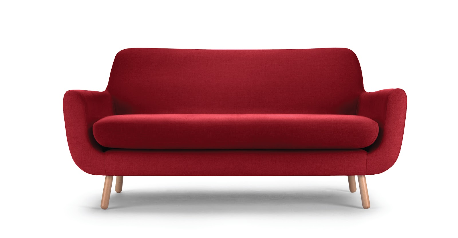 Red 2 Seater Sofa Www Cintronbeveragegroup Com