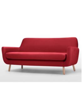Jonah 3 Seater Sofa Red