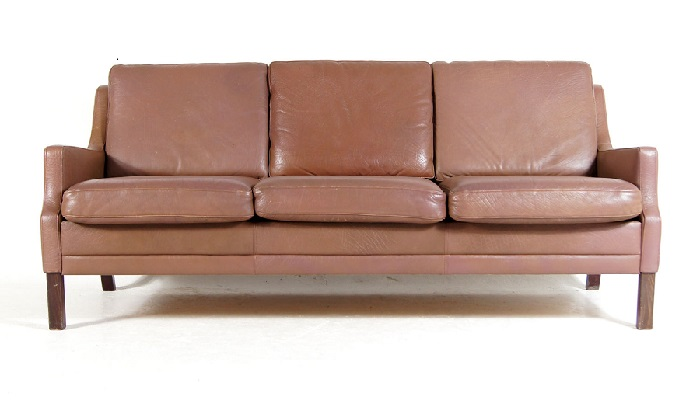 Leather sofa 1960s