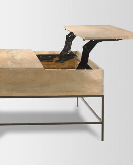 West Elm Industrial Coffee Table 1