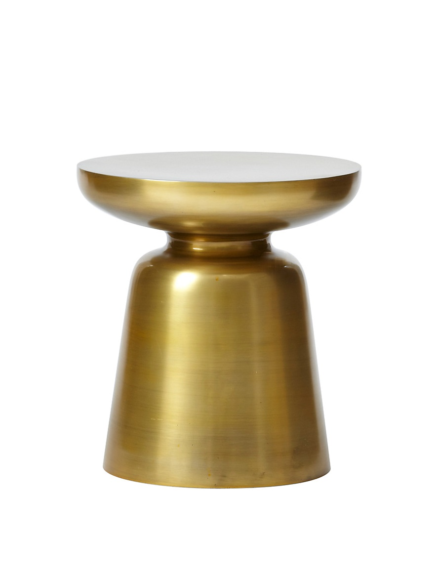 West Elm Martini Side Table Gold