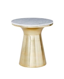West Elm Martini Side Table Marble