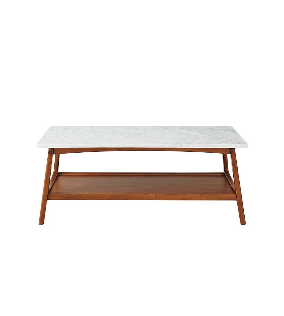 Reeve Mid Century Rectangular Coffee Table: West Elm Reeve Coffee Table