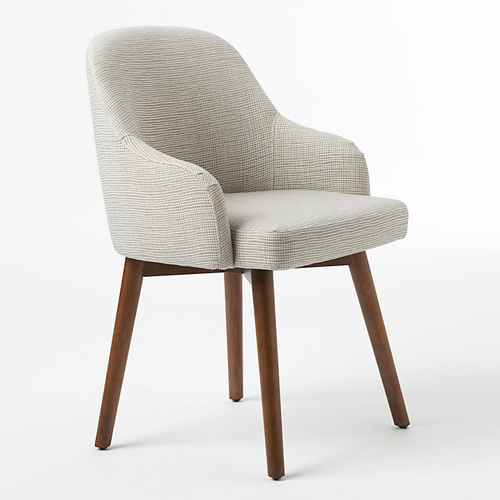 West Elm Chairs: West Elm Saddle Dining Chair