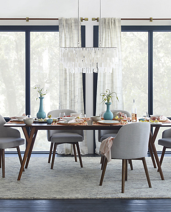 West Elm Saddle Dining Chair 2