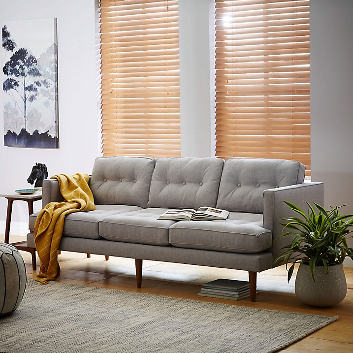West Elm Peggy 3 Seater Sofa 2