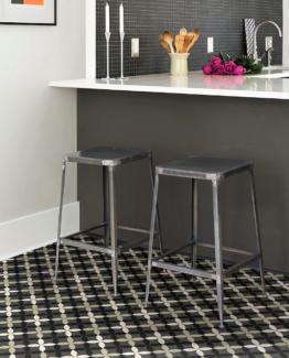 clover vinyl floor tile