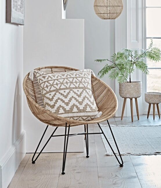 Flat Rattan Occasional Chair