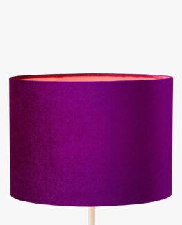 Jenny Velvet Oval Lampshade