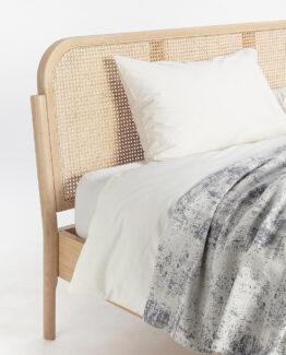 John Lewis Rattan Bed