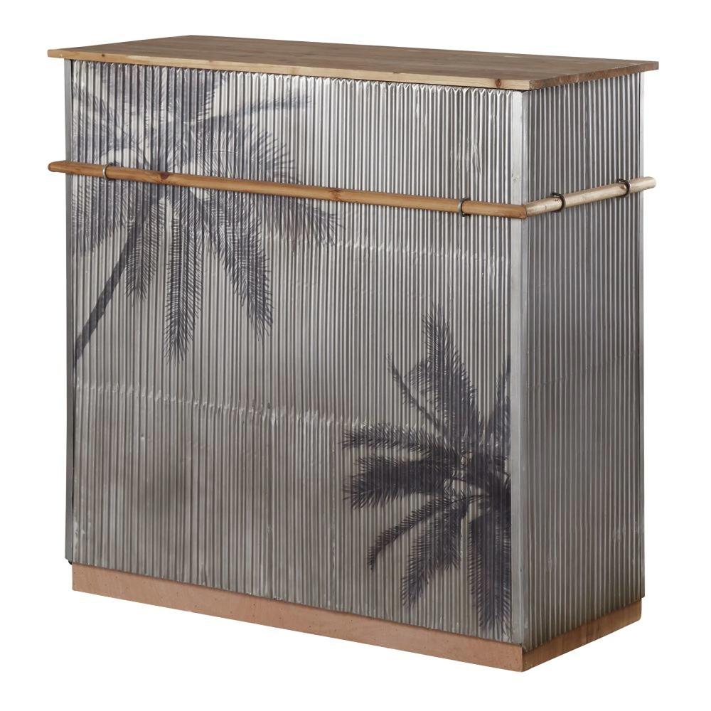 Santa Cruz Palm tree bar