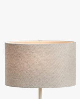 Sophia Pure Linen Oval Lampshade