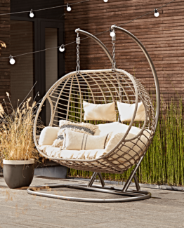Double Indoor Outdoor Hanging Chair