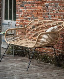 Hampstead Rattan Bench