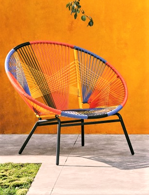 Jambi Multi-Coloured Garden Chairer