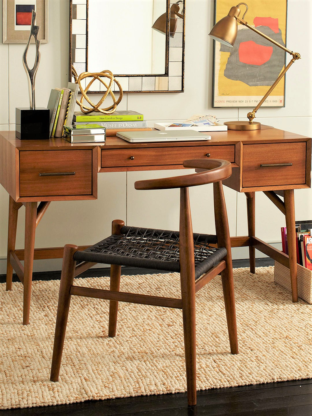 Image of: West Elm Acorn Desk Mad About Mid Century Modern