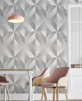 Atelier Geo Slate Wallpaper
