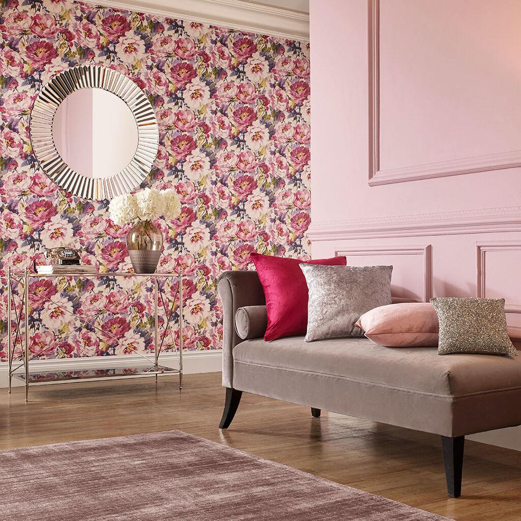 Chelsea Fuchsia Wallpaper