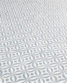 Mid Century Cobalt Vinyl Flooring