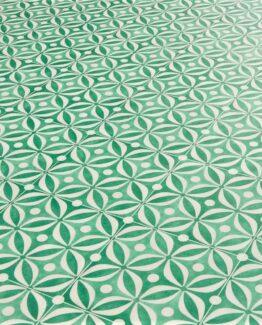 Mid Century Emerald Vinyl Flooring