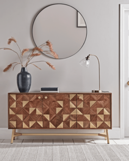Geometric Inlay Sideboard