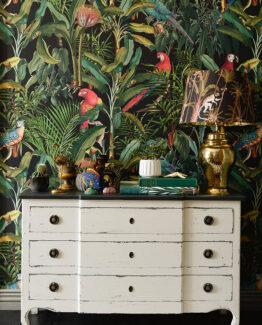MINDTHEGAP Parrots Wallpaper