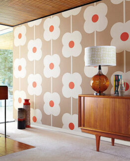Orla Kiely House for Harlequin Giant Abacus Flower Wallpaper