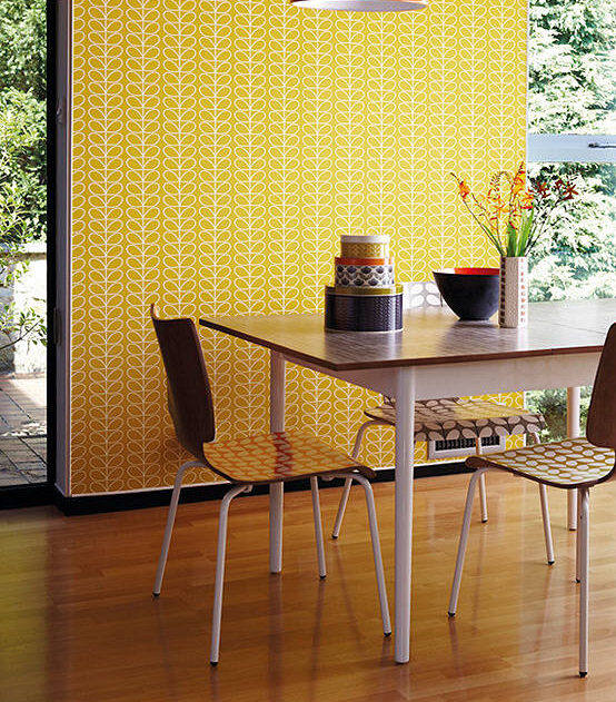 Orla Kiely House for Harlequin Linear Stem Wallpaper