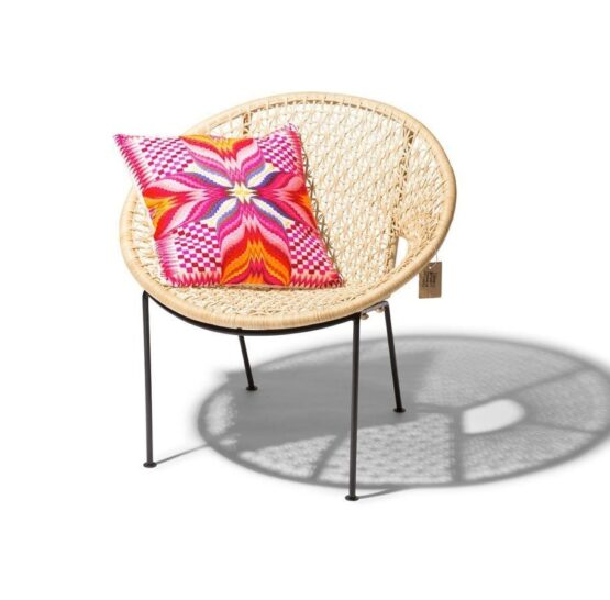 Ubud Rattan Flower Chair