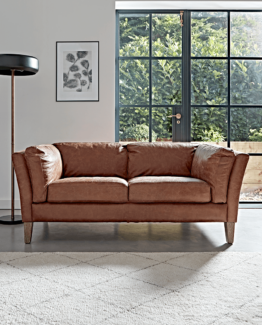 Tetbury Leather Sofa