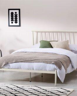 Penn King Size Metal Bed