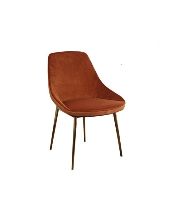 Carney Dining Chairs Rust (set of 2)