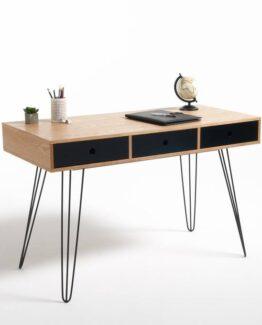 Biface 3 Drawer Desk