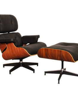 Eames Lounge Chair and Ottoman Rosewood