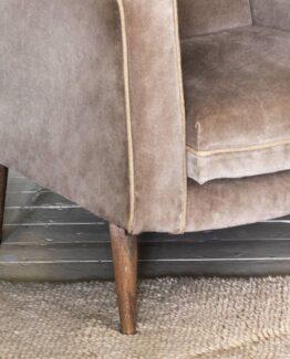 Finn Velvet Armchair